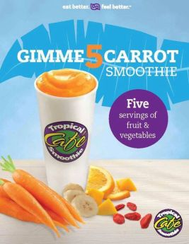 Gimme 5 Carrot Smoothie