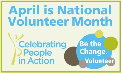 April Volunteer Month