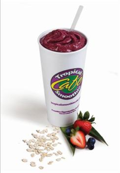 Triple Berry Oat Smoothie