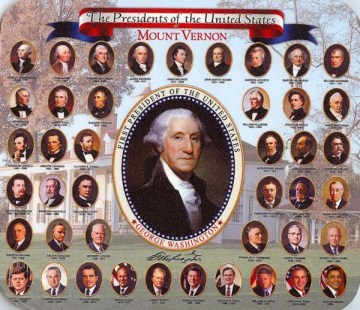 Presidents of US