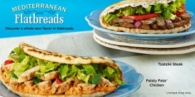 Feisty Feta® Chicken and Tzatziki Steak Flatbreads